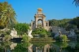 Fototapeta Fountain in a Parc de la Ciutadella, Barcelona