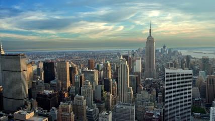 New York City Establishing Shot