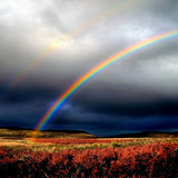 Loch-Doon-Winter-Rainbow