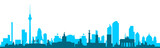 Fototapety Berliner Skyline
