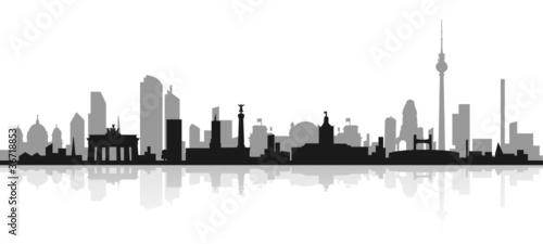 Fototapeten,berlin,skyline,sehenswürdigkeit,wahrzeichen