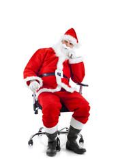 Babbo Natale disoccupato