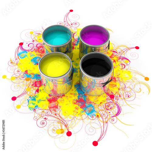 Colori CMYK Splash