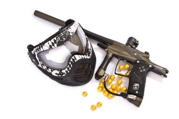 Paintball Mask and Ego 10