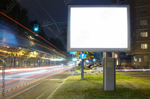 canvas print picture Advertising billboard