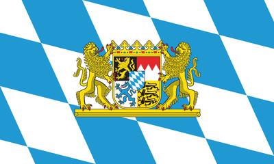Fahne Bayern