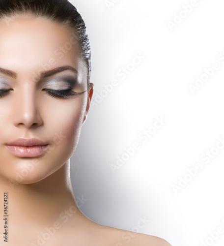 Fototapeten,frau,gesicht,makeup,makeup