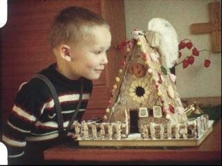 Lebkuchenhaus, Weihnachten