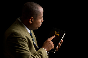 Pointing to the Holy Bible as the Answer