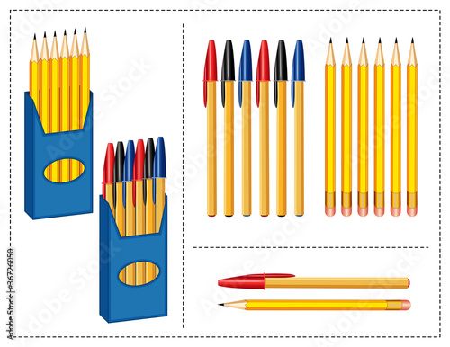 Pens and Pencils Boxes