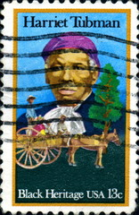 Harriet Tubman. Black Heritage. US Postage.