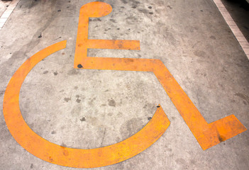 Restroom for handicapped