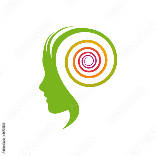 Logo dynamic thinking # Vector