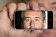 Smartphone mit Portrait