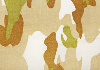 camouflage textile background