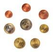 euromünzen einzeln_collage rund