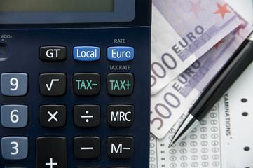 tax euro calculator