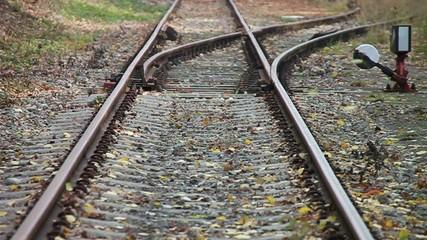 Eisenbahn - 001 - Schienen - Herbst