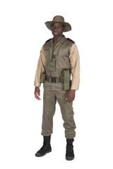 Ranger sur fond blanc