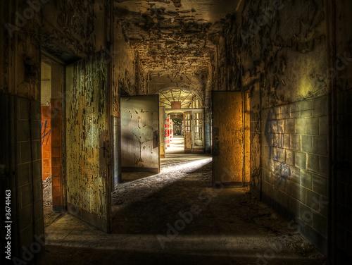 Abandoned Hallway - 36741463