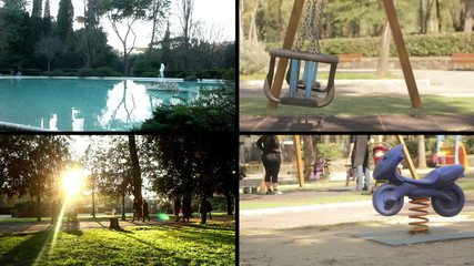 Composition - Scenes in the Park