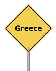 Warning Sign Greece