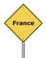 Warning Sign France