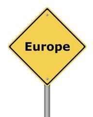 Warning Sign Europe