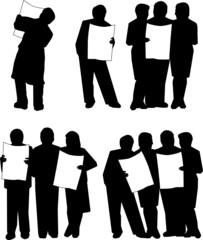 News, Zeitung, Menschen