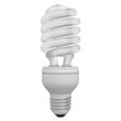 Energy saving compact fluorescent light bulb