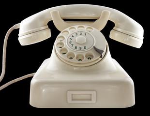 Telefon alt weiß phoe old white