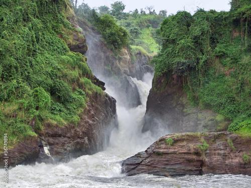 Fototapeten,uganda,afrika,schnell,fluß