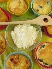 Maismehl und glutenfreier Kuchen