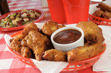 Basket of chicken wings