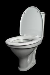 white lavatory pan