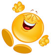 Cheerful emoticon