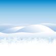 Winterlandschaft, Hintergrund, Schneeflocken, Eis