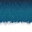 Weihnachtskarte, Hintergrund, Eiskristalle, Sterne