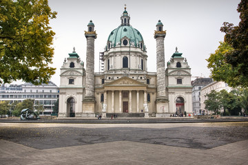 Photo of St. Charles Cathedral (Karlskirche) in Vienna