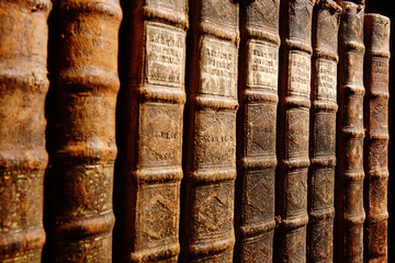 Antique Books leather-bound