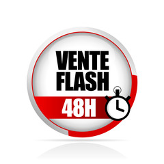 bouton vente flash 48 heures