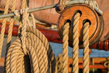 Vintage ship details.