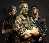 soldiers group