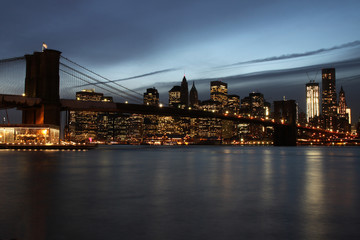 New York - 011 - Brooklyn Bridge - Skyline