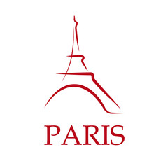 Drawing Logo Paris # Vector