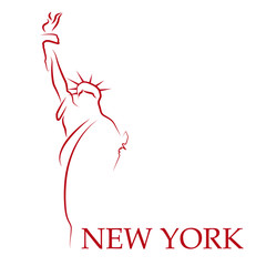 Drawing Logo New York # Vector