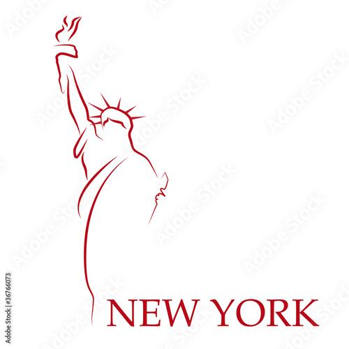 Fototapeten,logo,new york,amerika,abstrakt