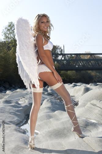 Freundlicher Engel