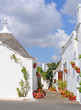 Trulli houses in Alberobello, Italy, Europe
