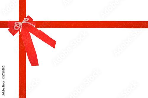noeud de cadeau de noel ou anniversaire rouge photo libre de droits sur la banque d 39 images. Black Bedroom Furniture Sets. Home Design Ideas